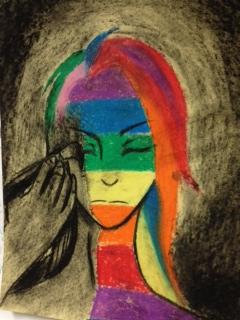 rains art rainbow